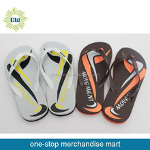 man slippers with OEM design