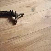 knotty rustic grade unfinished engineered russia oak wood flooring