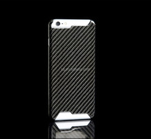 Real carbon fiber case for iPhone 6, for iPhone 6 carbon fiber case paypal accepted