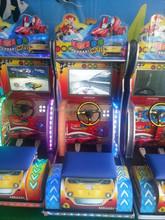 Simulative ferrari car racing game for kids game center