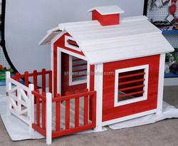 High quality Outdoor Pet Wooden house/Fir wood dog house