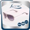 Custom Promotional glasses full frame classical bright color pilot sunglasses