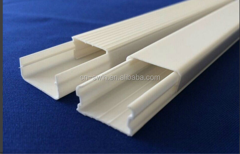 Promotion price rectangular pvc pipe square conduit