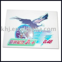 color vinyl adhesive sticker