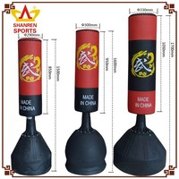 Hot Sale top grade custom water filled base boxing punching bag