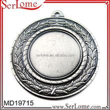 Printed souvenir use running race medal sport medal hanger