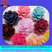 Cell phone beauty diy accessories Nail art flowers Polymer clay material hair accessories grinding resin rose flowers