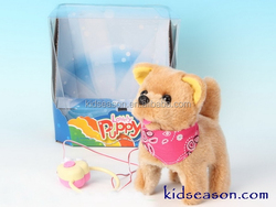 ELECTRONIC LINE CONTROL PLUSH DOG/PUPPY WITH ACTION AND SOUND