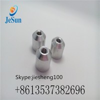 cnc precision turning parts Aluminum nut +86 135 3738 2696