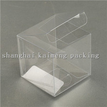 special plastic square box clear pvc packaging design