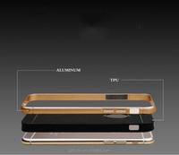 Metal Aluminum Bumper Frame phone Case Cover for iphone 6