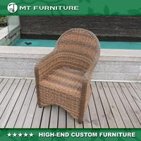 Round Wicker Garden Furniture Patio Chair