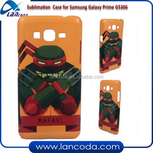 direct factory 3D Sublimation cover for Samsung Galaxy Grand prime G5306,sublimation cell phone case,sublimation phone cover