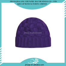 Great material winter acrylic knitted ski hat