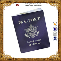 Professional Custom-made Saddle Stitching Passport Printing