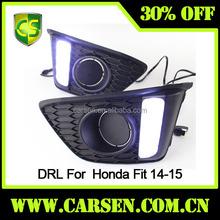 Headlight Fit Auto Accessories Fog light lamp Fit 2014-2015 LED DRL Daytime Running light