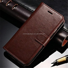 Durable PU Leather Wallet Case for iPhone 6 Plus