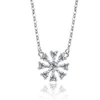2015 the end of year new product snow necklace christmas present