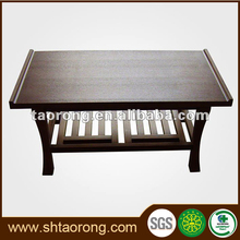 Custom made cheap rectangle wood living room side tables