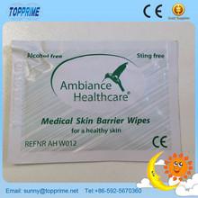 Cusomized Individually Wrapped Wet Wipes, 4 Sides Sealed Single Wet Wipes