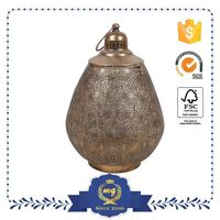 Top Selling High-End Handmade Attractive Antique Metal Hanging Candle Holders