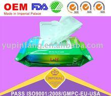 80pcs+10pcs soft Baby Wipes(fragrance/No fragrance) rich aloe & vitamin E
