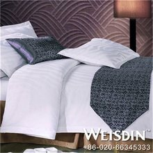 100% cotton chinese imports wholesale satin stripe bed cover set