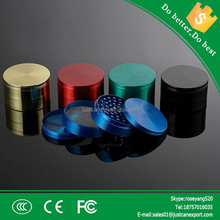 2015 newest best hot Hard Top herb grinders, 4 parts, Zinc Alloy , Mixed Colors, custom available. We also offer vapor pen, met