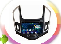 Pure android 4.4 car dvd player For CHEVROLET Cruze 2013 RDS ,GPS,WIFI,3G,support OBD,support TPMS