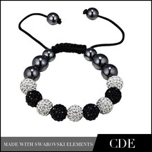 CDE DIY Bead Bracelet,High Quality Shamballa Bracelet