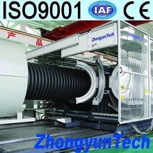 Competitive big size corrugated plastic pipe machine
