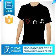 Popular Design O-Neck Top 10 T Shirt Brands
