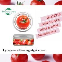 Best Whitening Night Cream Lycopene Whitening Night Face Cream 50g