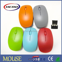 Best selling cheap wireless mouse without battery in different color