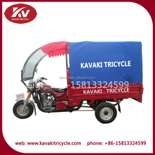 Double usage cargo and passenger 3 wheel tricycle passenger motorcycle