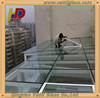 Over size Flameproof Super white tempered Glass with ce & csi certificate for Sun house