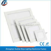 import round shape 24w smd led ceiling panel light(lamps) for indoor kitchen or home decoration