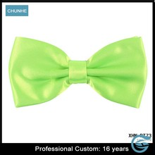 Fashion formal solid OEM Custom bow ties for children