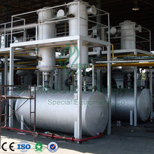Environmental and safe continuous used oil refinery plant with CE/ISO