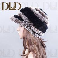 China cheap price high top quantity rabbit fur chinese women's straw tweed hat