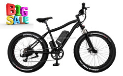4.0 big tire 500W brushless motor snow bike / mountain electric bike