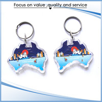 Customized Made High Quality cheap couple necklace couple keychain
