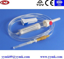 Disposable Safety Infusion and transfusion set, CE/ISO approved sterile medical consumables