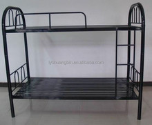 Dubai black adult double metal bunk bed