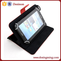 "9-10"" universal handhold leather working tablet case for ipad air 2 with lanyard"