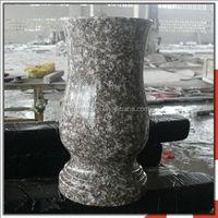 Stone Xiamen G664 Cemetery Funeral Vase
