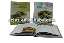 Customized hardcover cooking /recipe book printing