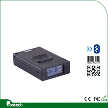 Mini bar code reader 2D/QR Bluetooth COMS MSR3392 Barcode scanner Build in battery