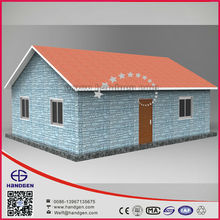 Small area modular light steel villas house with customer with three bedroom