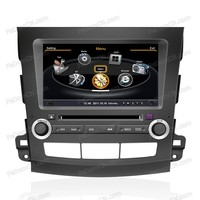 In-dash car DVD player +GPS system+car radio+TV+Bluetooth for Peugeot 4007